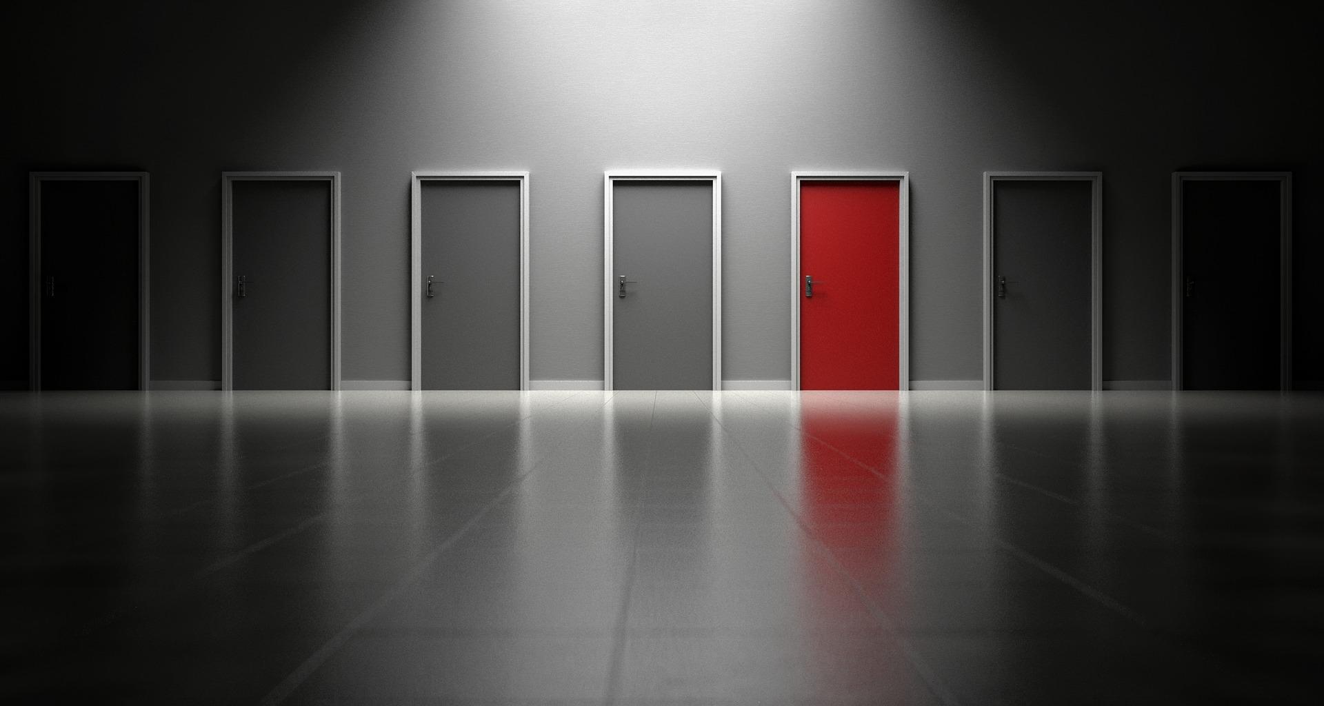 Znajdź wejście, zamiast szukać wyjścia - Loesje